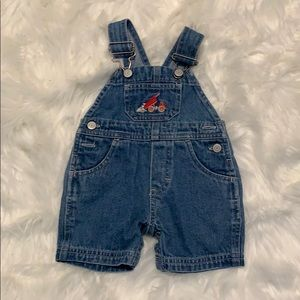 Baby boy shorts overall from Carter's 0-3 months